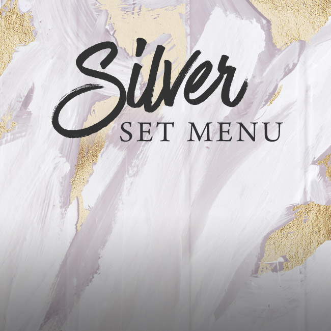 Silver set menu at The Chilworth Arms