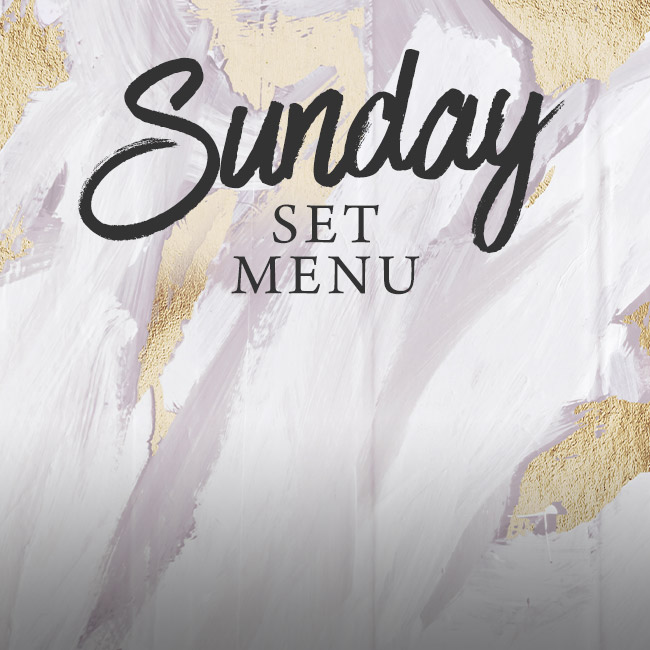 Sunday set menu at The Chilworth Arms