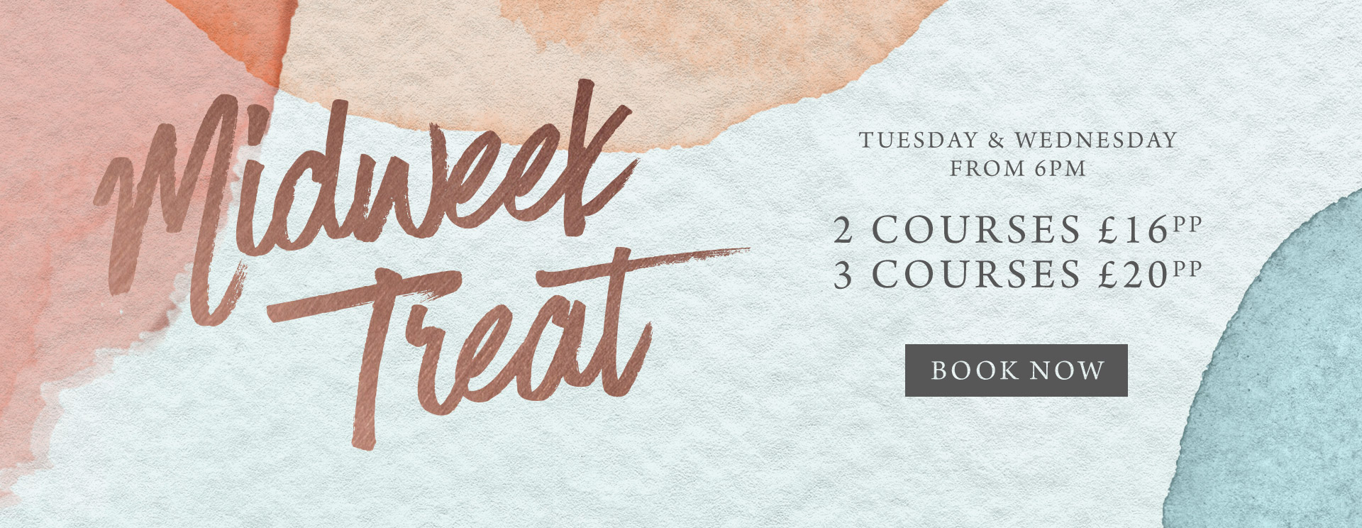 Midweek treat at The Chilworth Arms - Book now
