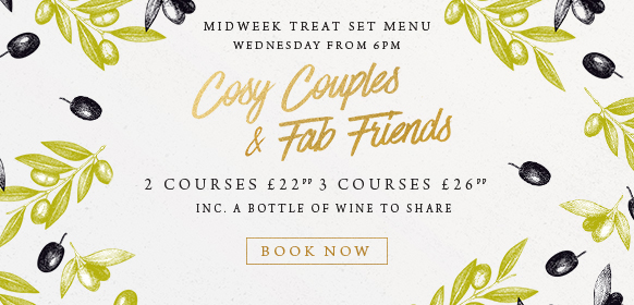 Midweek treat set menu at The Chilworth Arms